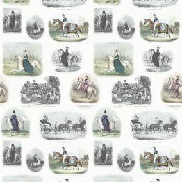 Флизелиновые обои The Royal Collection PRC670/02 коллекции Buckingham