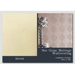 Lincrusta, артикул RD1843 Sea Grass Matting